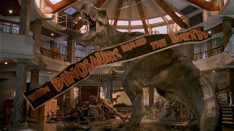 Le scénario de Jurassic Park présente un exemple de Deus ex Machina